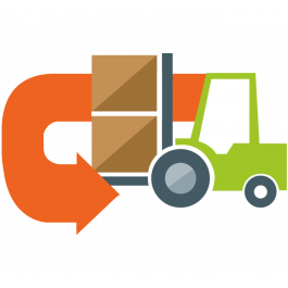 Supplier Return Return to vendor Magento logo