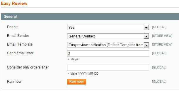 Easy review for Magento screen 3