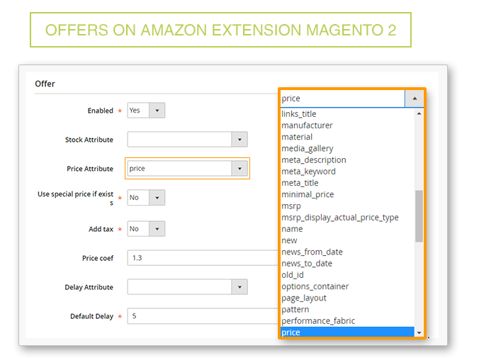 Amazon Magento 2 extension