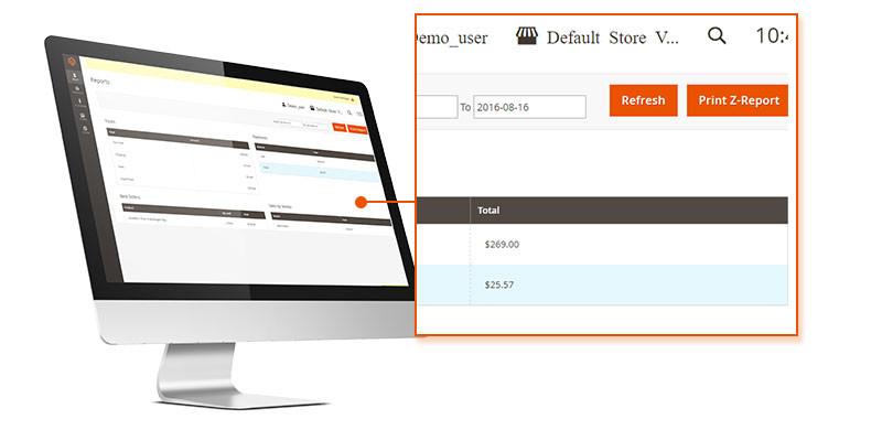 POS Point of Sales Magento 2 extension screen 2