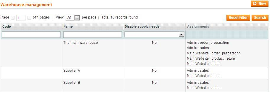 back order magento erp product availability view