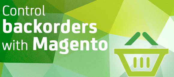 Control backorder with Magento