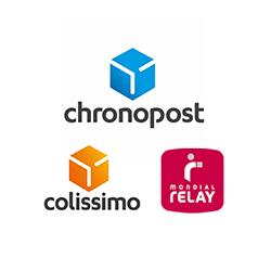 Chronopost / Colissimo / Mondial relay