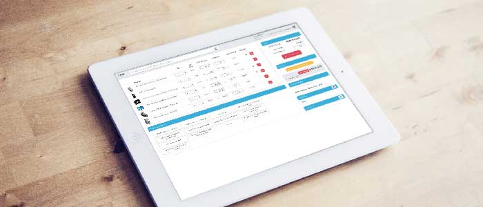 tablette point of sales