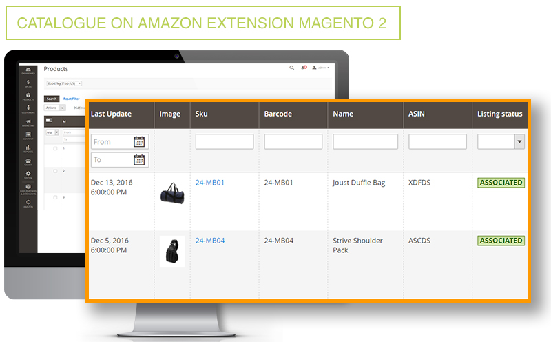 Catalog on Amazon Extension Magento 2